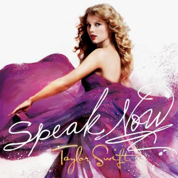 Taylor Swift Speak Now album cover 820