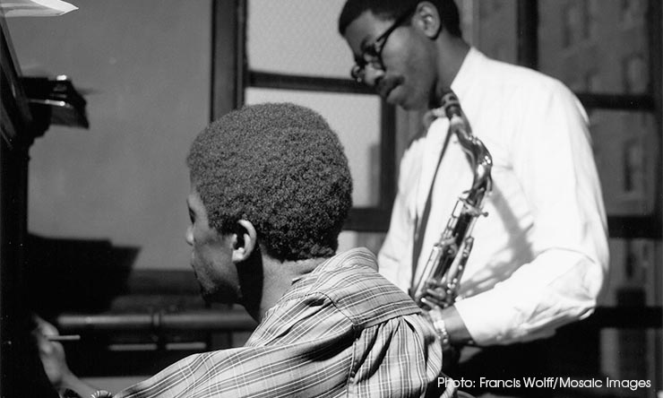 Andrew Hill (left) Joe Henderson (right) web optimised 740 CREDIT Francis Wolff-Mosaic Images