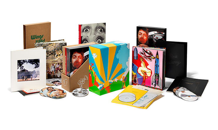 Wild Life & Red Rose Speedway deluxe reissue packshots