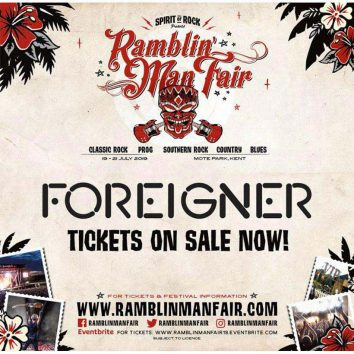 Foreigner Ramblin Man Fair 2019