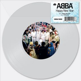 ABBA Happy New Year 7 inch packshot