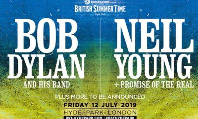Neil Young Bob Dylan British Summer Time