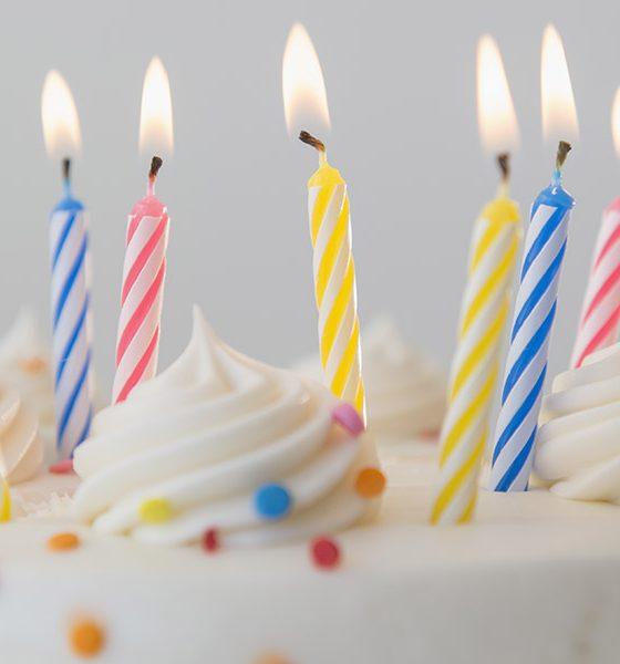 Best Birthday Songs Graphic, Photo of Birthday Cake