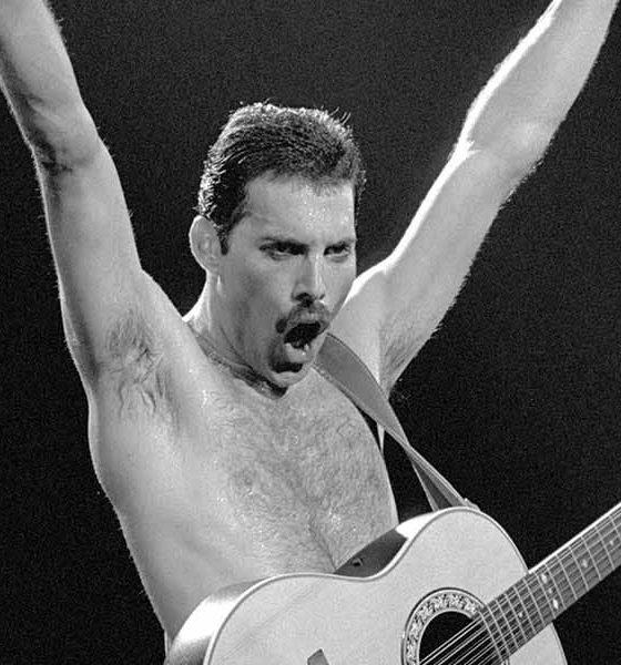 Freddie Mercury press image Neal Preston copyright Queen Productions Ltd