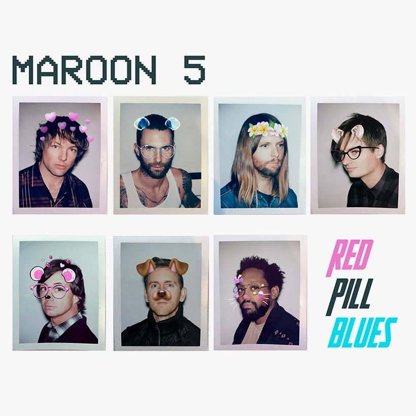 Maroon 5 Red Pill Blues album cover 820