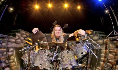 Nicko McBrain photo John McMurtrie