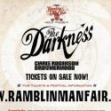 The Darkness Confirmed As 2019 Ramblin' Man Fair Headliner