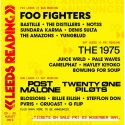 Foo Fighters, The 1975, Post Malone Confirmed To Headline Reading And Leeds 2019