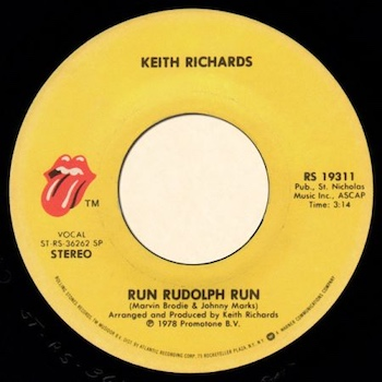 Run Rudolph Run Keith Richards