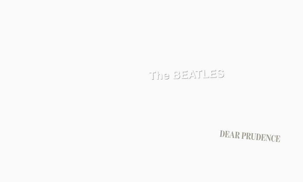 The Beatles Dear Prudence Song 1000 brightness