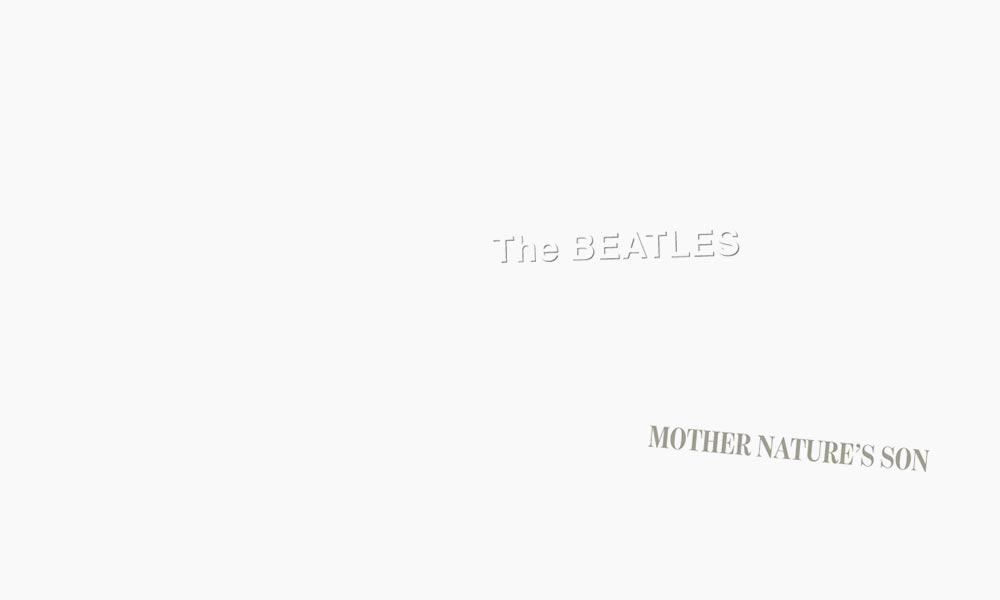 The Beatles White Album Mother Nature's Son