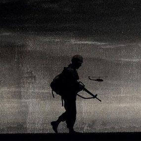 Trent Reznor and Atticus Ross Vietnam War soundtrack album cover cropped