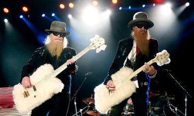 ZZ Top photo by Frazer Harrison and Getty Images for Stagecoach