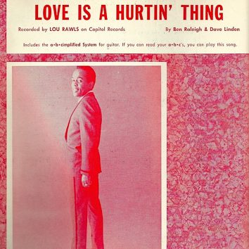 Lou Rawls Love Is A Hurtin' Thing