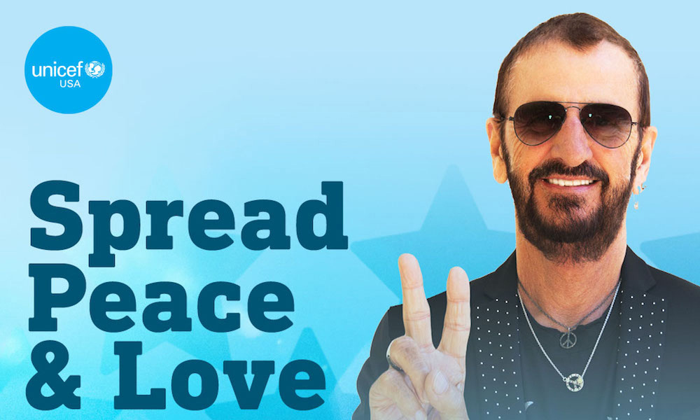 Ringo Starr George Harrison UNICEF