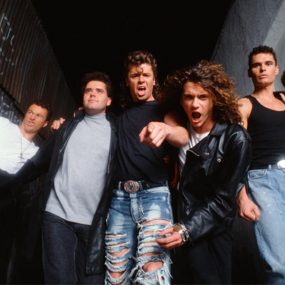 INXS Kick press shot