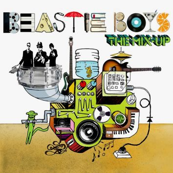 Beastie Boys The Mix-Up album cover brightness