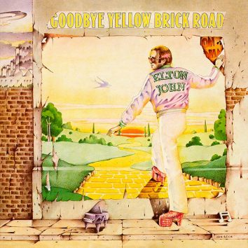 Elton John Goodbye Yellow Brick Road album cover 820