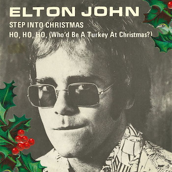 Elton John Step Into Christmas EP