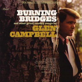 Glen Campbell Burning Bridges Album cover web optimised 820