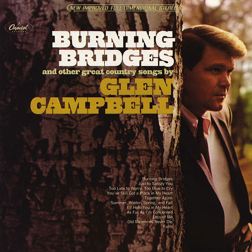 'Burning Bridges': Glen Campbell Crosses To Solo Country Stardom