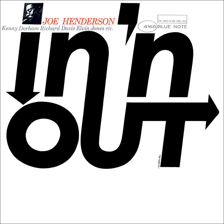 Joe Henderson In N Out album cover web optimised 740