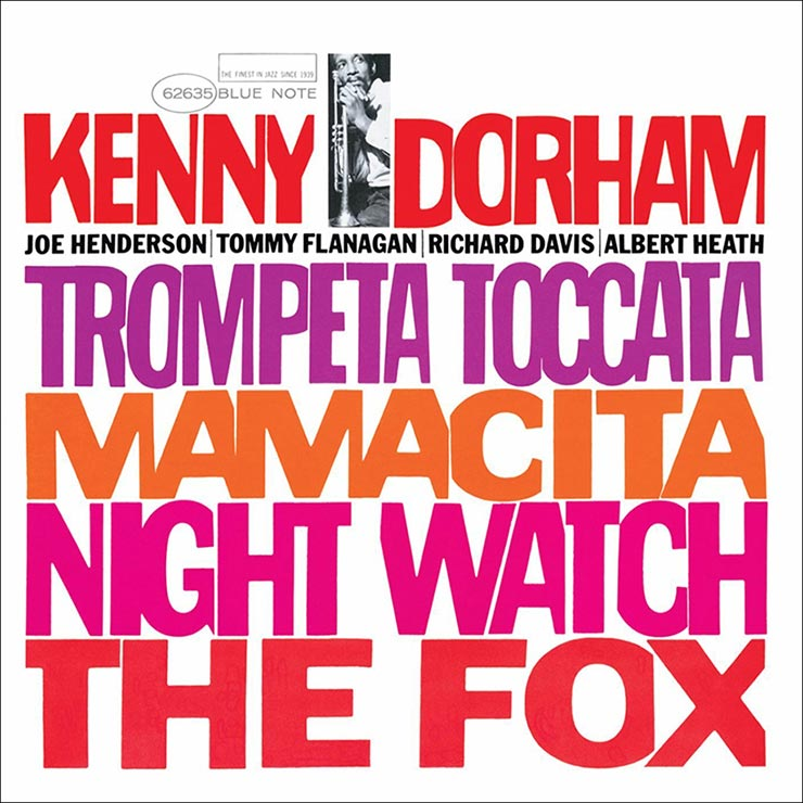 Kenny Dorham Trompeta Toccata album cover web optimised 740