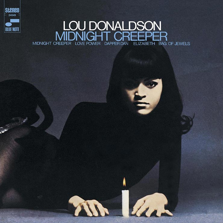 Lou Donaldson Midnight Creeper album cover web optimised 740