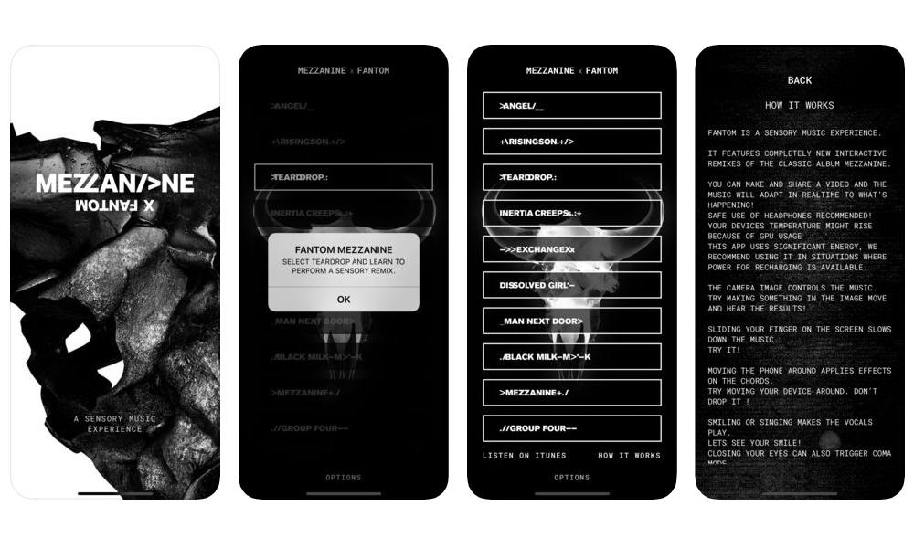 Massive Attack Fantom App