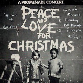 Peace And Love For Christmas poster