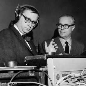 Rudy Van Gelder With Alfred Lion Blue Note Sound Featured image web optimised 1000 CREDIT Francis Wolff-Mosaic-Images