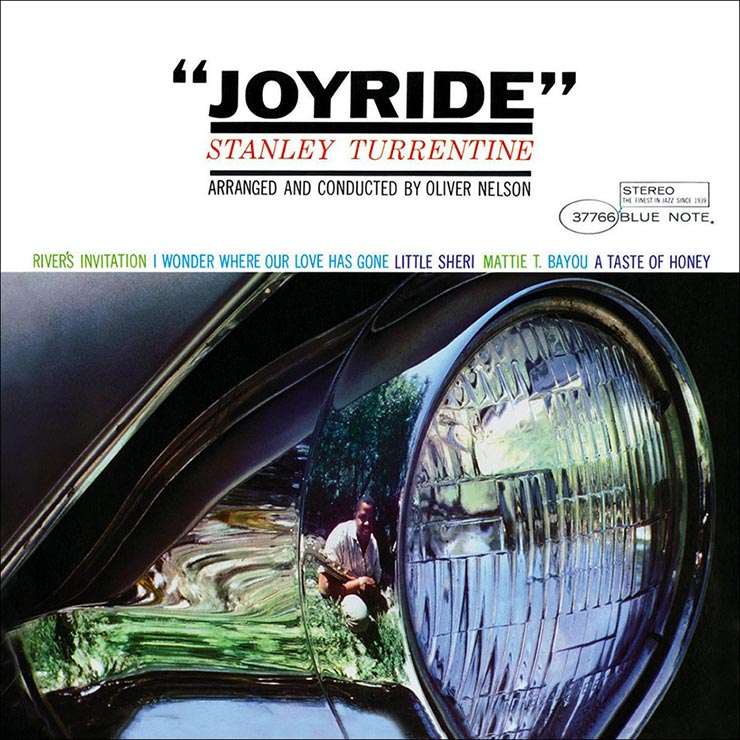 Stanley Turrentine Joyride album cover web optimised 740