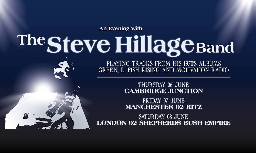 Steve Hillage Band poster