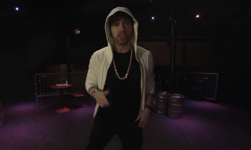 Eminem Freestyle Rap Kick Off