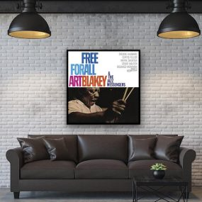 Art Blakey Free For All wall art