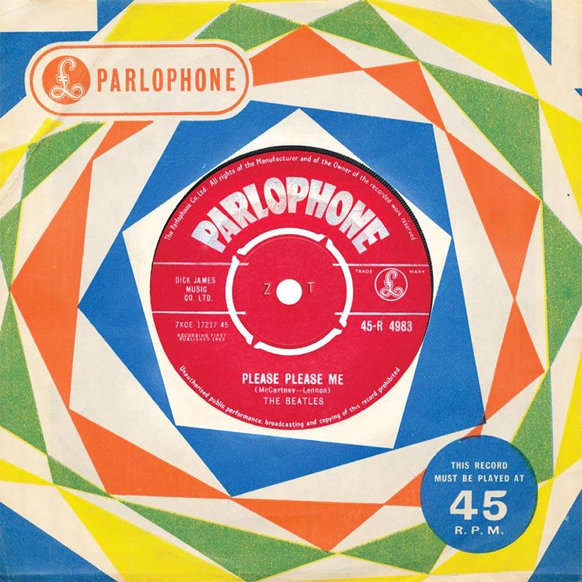 Beatles Please Please me single artwork web optimised 820