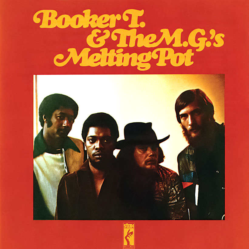 Booker T And The MGs Melting Pot album cover 820