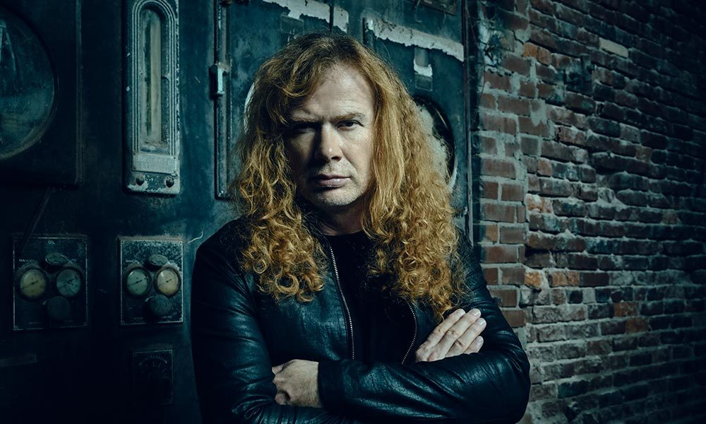 Dave Mustaine Megadeth solo photo 2015