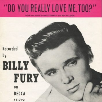 Do You Really Love Me Too Billy Fury