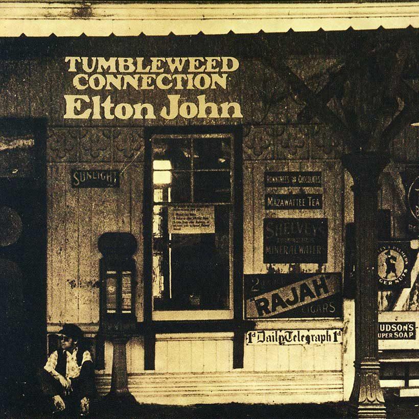 Elton John Tumbleweed Conection album cover web optimised 820