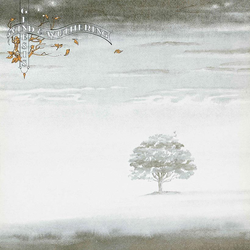 Genesis Wind And Wuthering Album cover 820