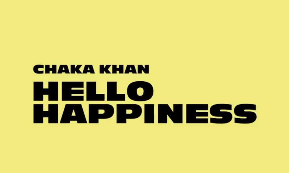 Hello Happiness Chaka Khan logo