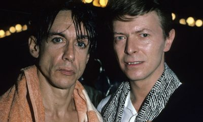 Iggy Pop and David Bowie