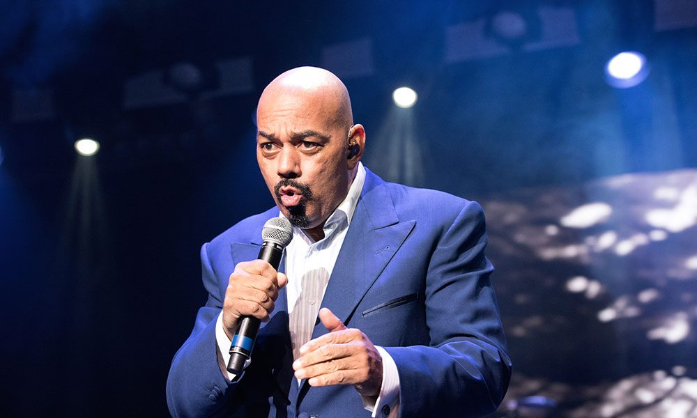 James Ingram photo by Earl Gibson III and WireImage