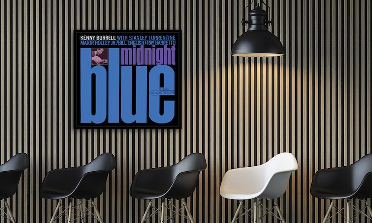 Kenny Burrell Midnight Blue wall art