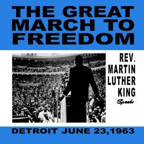 Martin Luther King Jr Great March To Freedom album cover web optimised 820