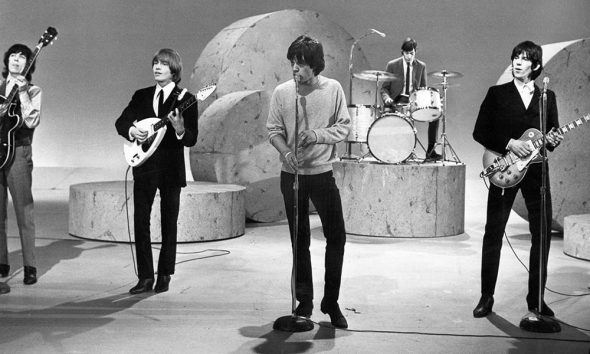 The Rolling Stones on Ed Sullivan in 1964