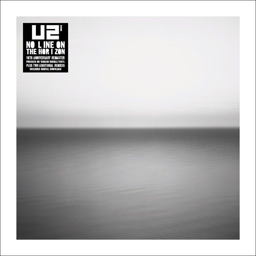 U2 No Line On The Horizon Black Vinyl Stickered 2019 artwork