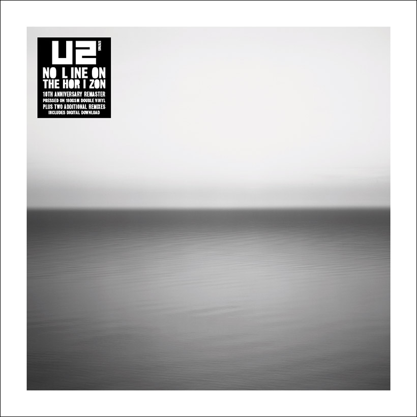 U2 No Line On The Horizon Black Vinyl Stickered 2019 artwork