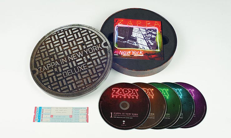 Zappa In New York 5CD Super Deluxe packshot